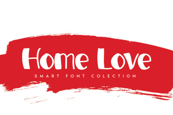 Home Love Font