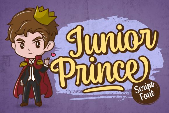 Junior Prince Font