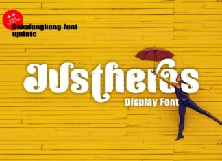 Justheros Font