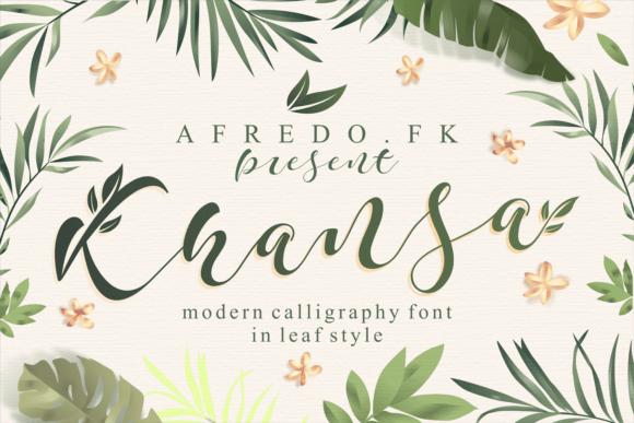 Khansa Font