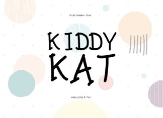 Kiddy Kat Font