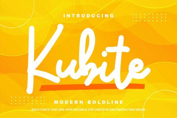 Kubite Font