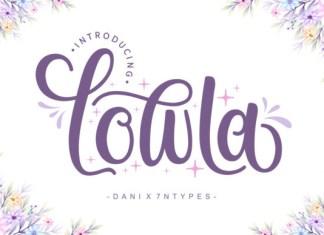 Lowla Font