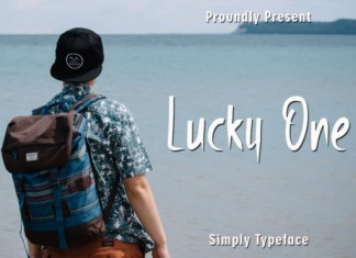 Lucky One Font