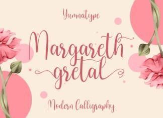Margareth Gretal  Font