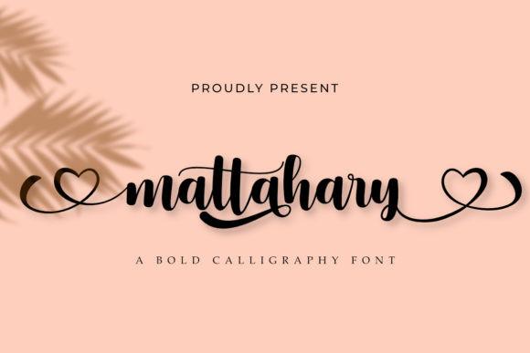 Mattahary Font