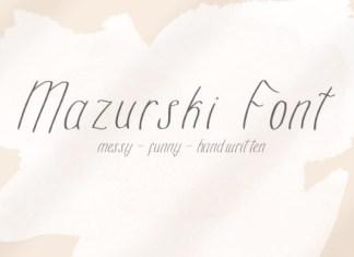 Mazurski Font