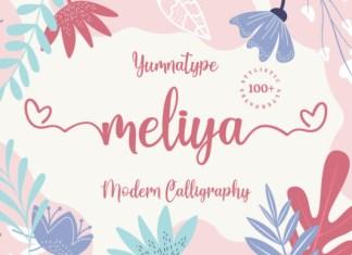 Meliya Font