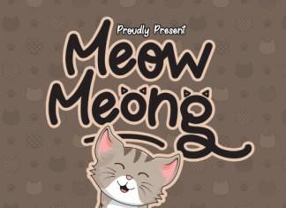 Meow Meong Font