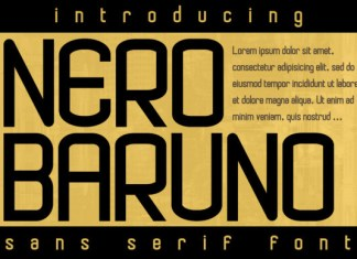Nero Baruno Font