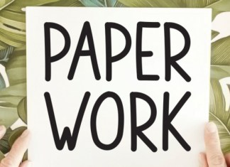 Paper Work Font