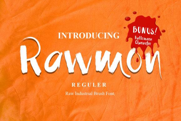 Rawmon Font
