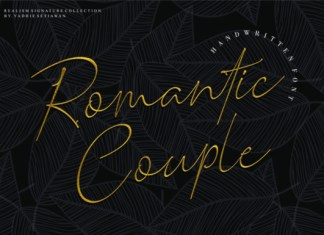 Romantic Couple Font