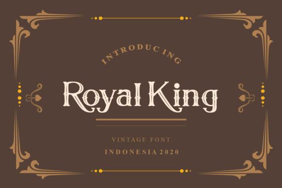 Royal King Font