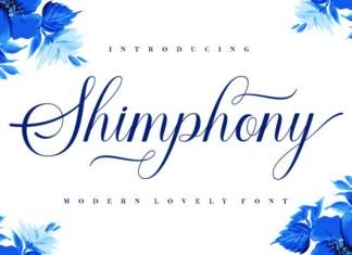 Shimphony Font