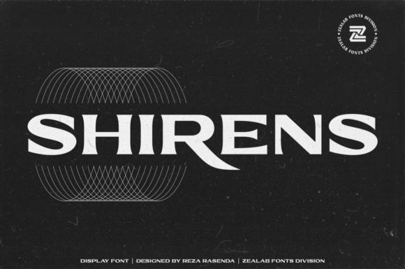 Shirens Font