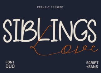 Siblings Love Font