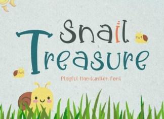 Snail Treasure Font