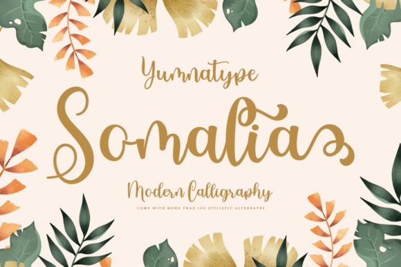 Somalia Font