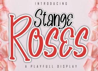 Stange Roses Font