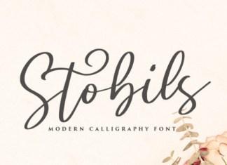 Stobils Font