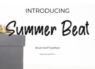 Summer Beat Font