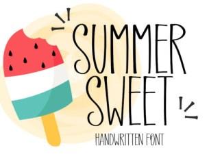 Summer Sweet Font