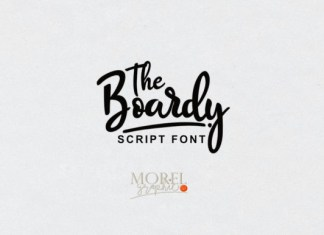The Boardy Font