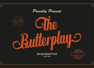 The Butterplay Font