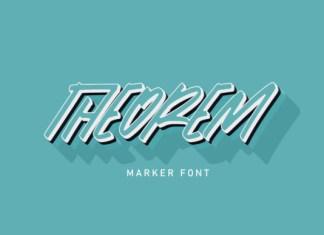 Theorem Font