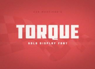 Torque Font