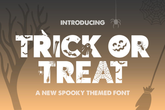 Trick or Treat Font
