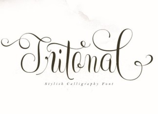 Tritonal Font