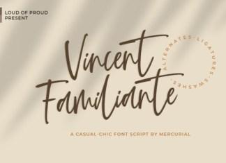 Vincent Familiante Font