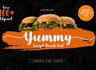 Yummy Font