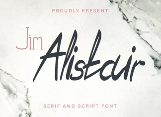 Jim Alistair Font