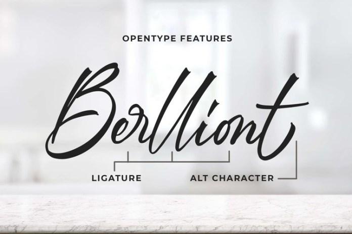 Berlliont Font