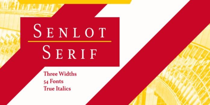 Senlot Serif Font Family
