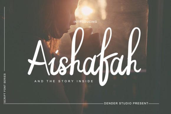 Aishafah Font