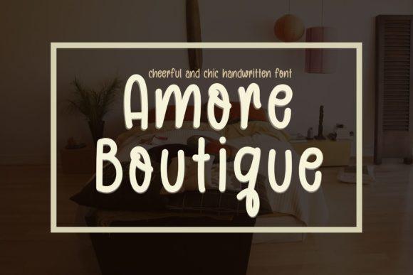 Amore Boutique Font