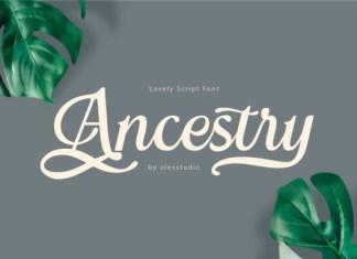 Ancestry Font