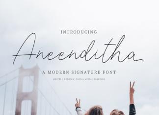 Aneenditha Font