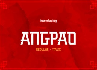 Angpao Font
