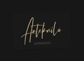 Arteknilo Font