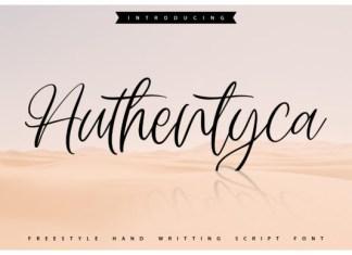 Authentyca Font