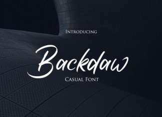 Backdaw Font