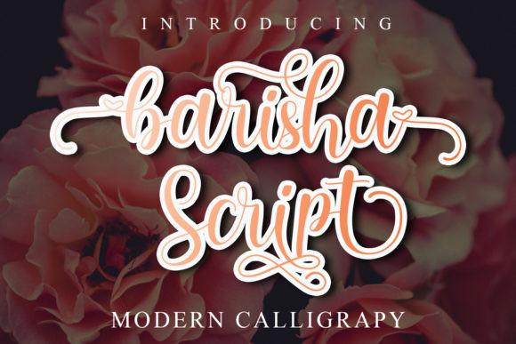 Barisha Script Font