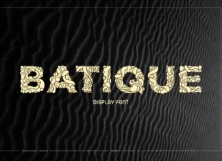 Batique Font