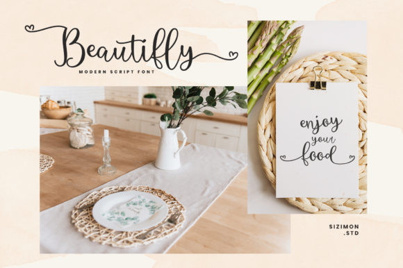Beautifly Font