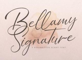 Bellamy Signature Font